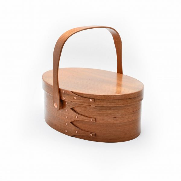 shaker style, button box, folk art center, tn craft, alfred university, wooden lunch box, sewing box