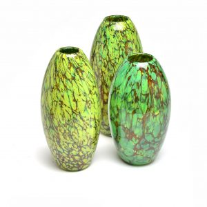 glass blowing, asheville glass studio, asheville glass artists, nc crafts, handmade glass vase