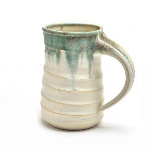 handmade beer stein, huge handmade ceramic mug, sc potter