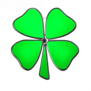 good luck gift, st. patricks day decor, handmade clover gift, irish gift