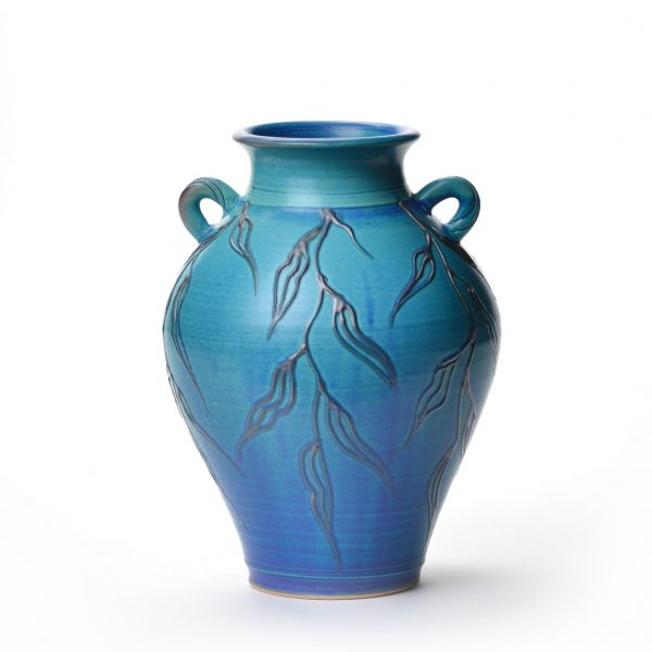 large blue vase dacey