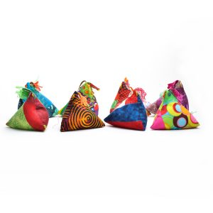 handmade gift for sewer, quilter gift, handmade pincushion, funky craft, outsider art,