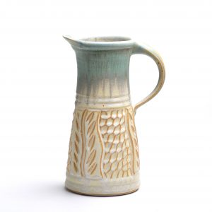 tall pitcher, ice tea pitcher, large cocktail pitcher, handmade ceramic functional pitcher