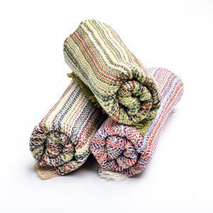 colorful baby blankets, traditional baby blanket, va fiber artist, handmade baby gift, handmade baby shower