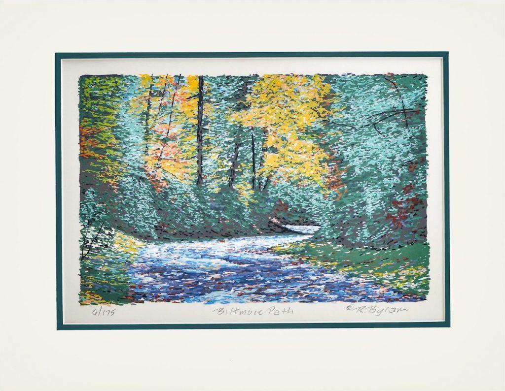 serigraph print nature