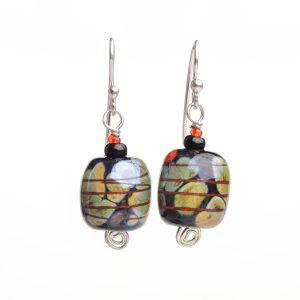 cheap handmade jewelry, handmade glass earrings
