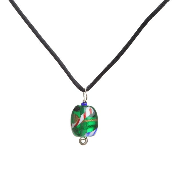 assorted glass bead necklace, cheap handmade jewelry, sale necklace