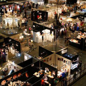inside the us cellular center, nc craft fair, asheville craft fair, craft events