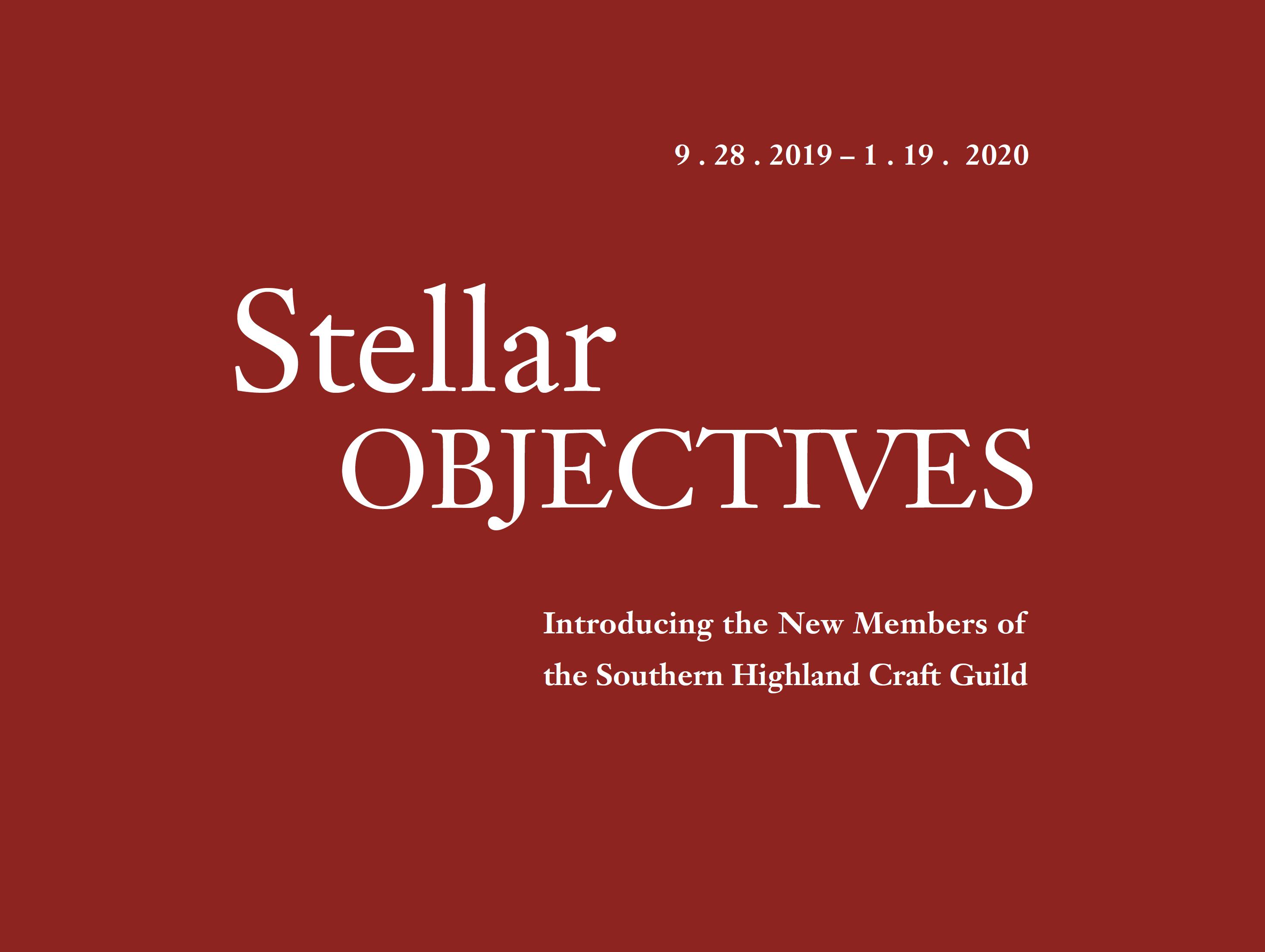 Stellar Objectives