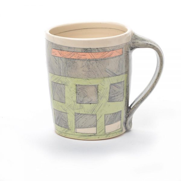 unique mugs, art mug, asheville potter