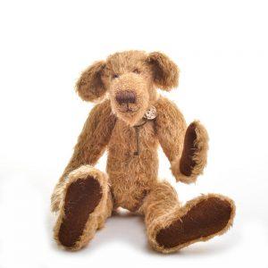 skinny teddy bear, unique handmade teddy bear, handmade teddy bear,