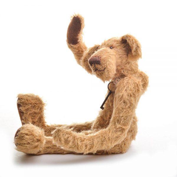 "16"" skinny teddy bear, unique handmade teddy bear, handmade teddy bear,"