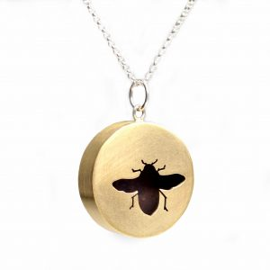 Audrey Laine Sawyer | Bee Shadowbox Necklace