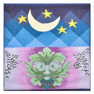 handwoven tapestry, folk art center gallery, nc fiber artist