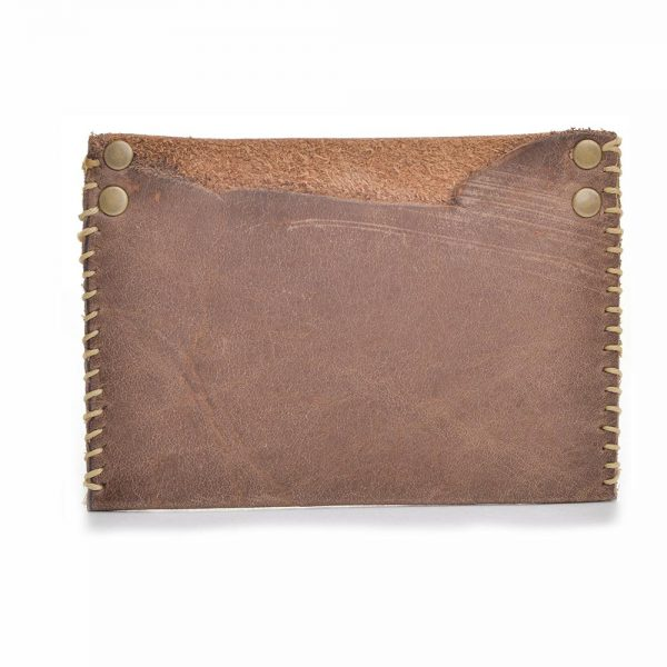 pocket card holder, small mens wallet, handmade men's wallet