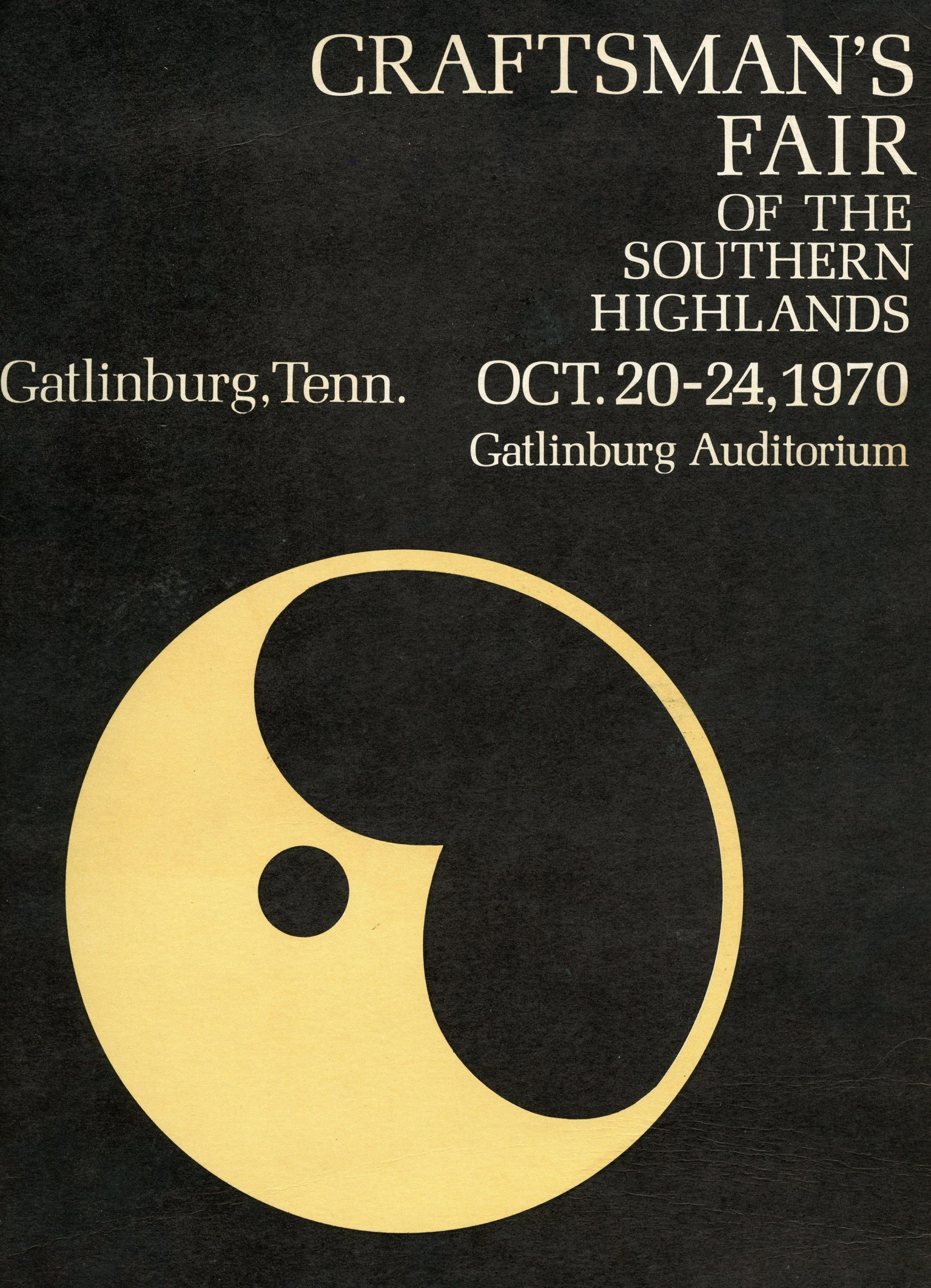 Hugh designed this fair poster for the Guild in 1970. He also designed ads and brochures, always donating his time to the organization.