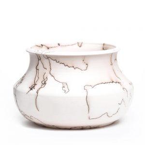 horse hair pottery, nc pottery