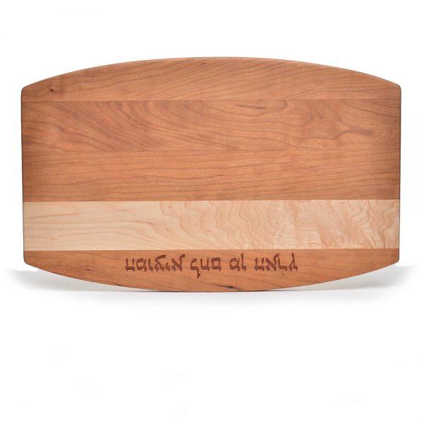 challah bread, Hanukkah, hebrew serving board