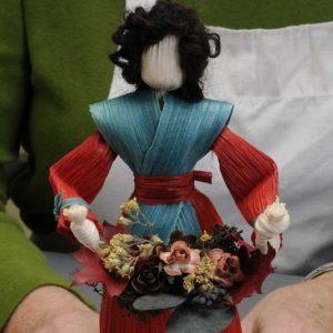 craft kit, appalachian craft, make your own doll, corn shuck artist,