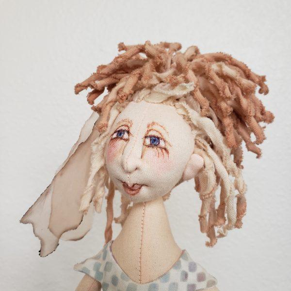 handmade elf doll, nc dollmaker