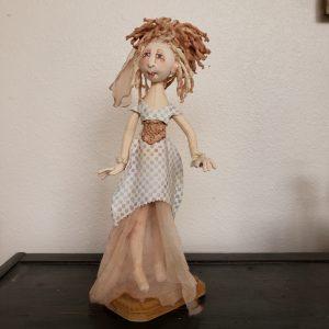 elf doll, handmade cloth elf dol