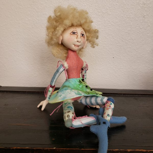 colorful pixie doll