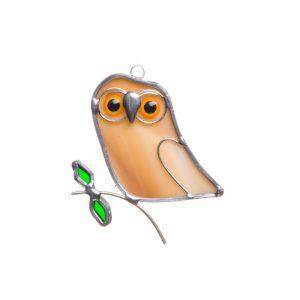mini owl suncatcher