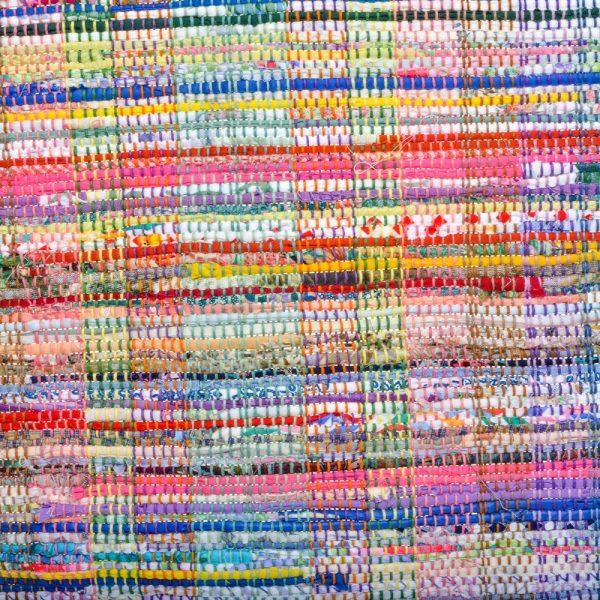 rag rug detail