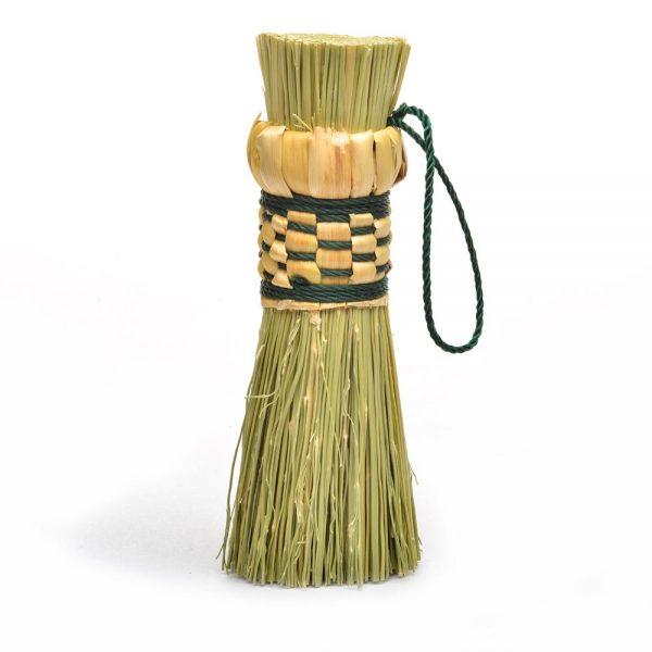 handmade pot scrubber, broom corn pot scrubber, traditional pot scrubber