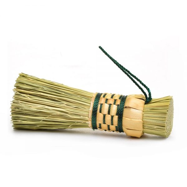 handmade pot scrubber by broom maker