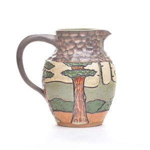 arts and crafts pitcher, modern arts and crafts pottery