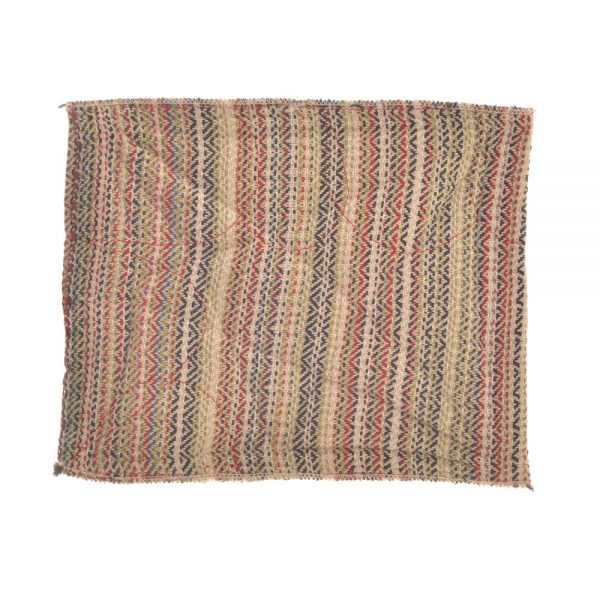 multicolored thick handwoven cotton hot pad