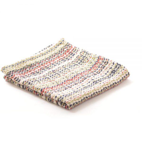 handwoven cotton dish cloth,