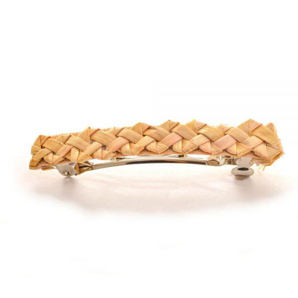 woven wheat handmade barrete