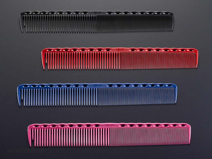 YS Park #336 FineQuick Cutting Grip Comb with Long Teeth