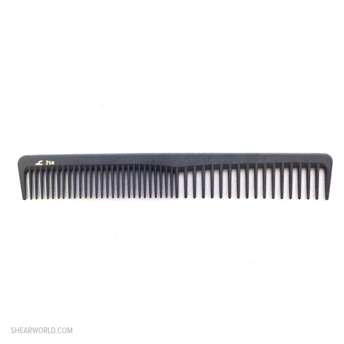 """Leader Carbon Comb - #214 - 7"""" Cutting Comb"""