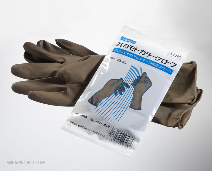 Okamoto Allergen-Free Latex Gloves - One Pair