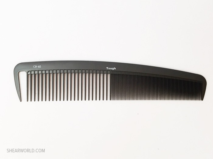 ComBank Tough Carbon Wide Comb #60 - 8.5""