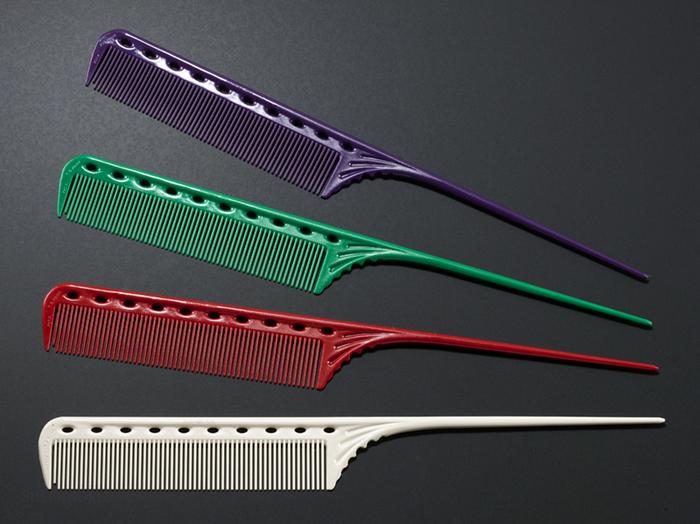 """YS Park #101 Plastic Tail Comb - 8.5"""""""