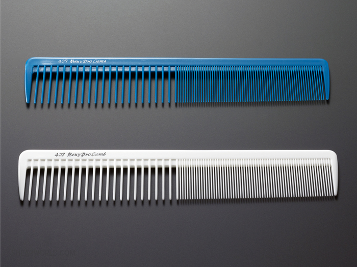 Beuy Pro- #407 Wide Cutting Comb 7.5""
