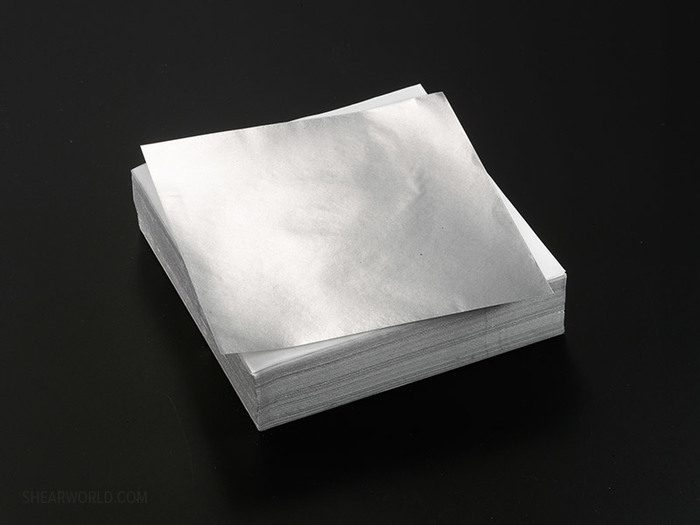 """Chameleon 5"""" x 5"""" Pre-cut Silver Foil - EXTRA HEAVY (.001"""" thick)"""