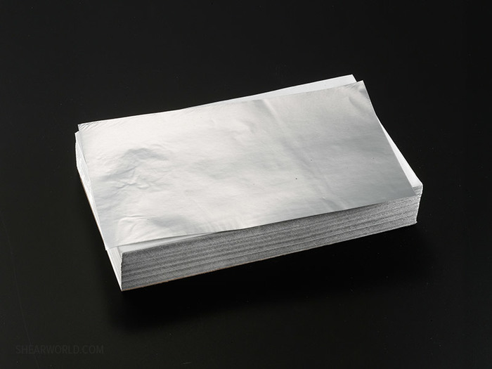 """Chameleon 5"""" x 8"""" Pre-cut Silver Foil -EXTRA HEAVY (.001"""" thick)"""