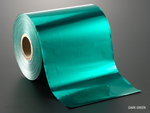 Color roll foil med dark green 00048