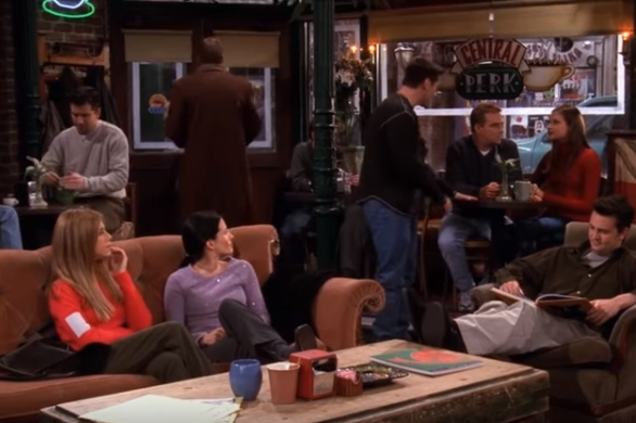 If they aren't home you can probably find them in the 'Central Perk'       having a cup of coffee.