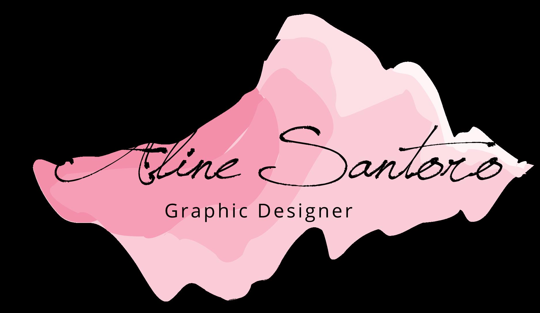 Aline Santoro Graphic Designer logo