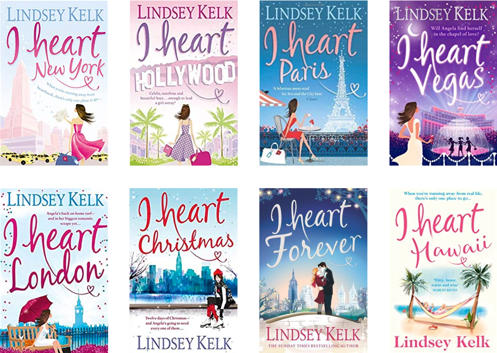 I heart series cover