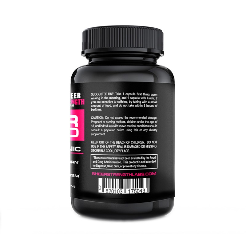 Thermogenic fat burner from sheer strength ingredients
