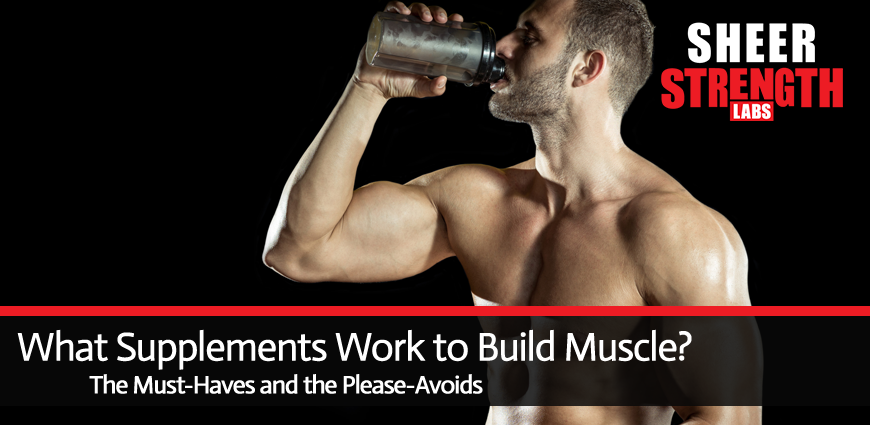 Supplements Needed to Build Muscle