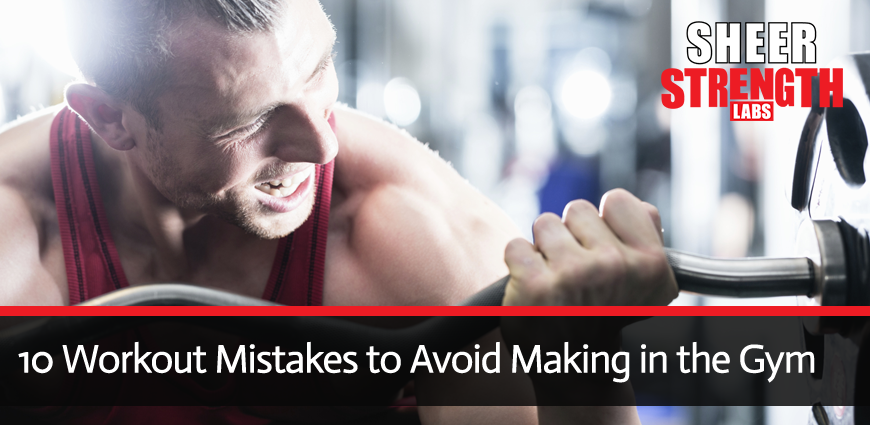 Workout Mistakes Guidelines for Beginners