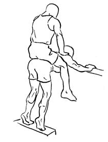 Strength Training Workouts: Donkey Calf Raise